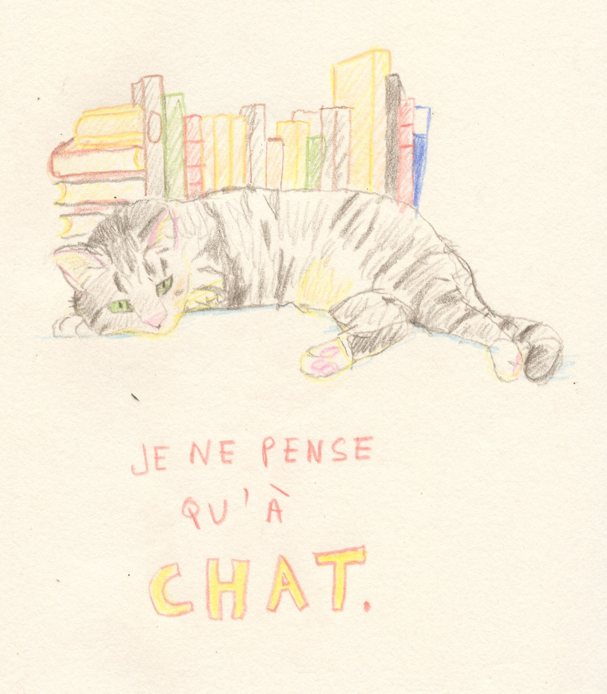 Titus le chat qui dit MiAaaaw…
